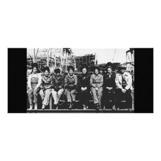 Group of Women Welders During World War Two Personalized Rack Card