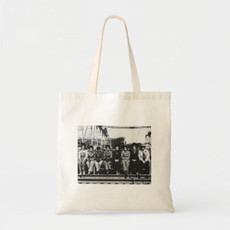 Group of Women Welders During World War Two Tote Bag