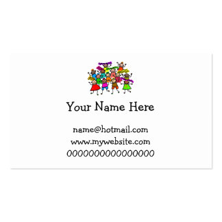 Group Photo Double-Sided Standard Business Cards (Pack Of 100)