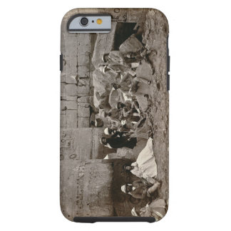 Group photograph in the Hall of Columns, Karnak, T Tough iPhone 6 Case