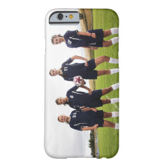 group portait of teen girl soccer players barely there iPhone 6 case