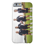 group portait of teen girl soccer players iPhone 6 case