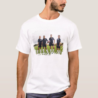 group portait of teen girl soccer players T-Shirt