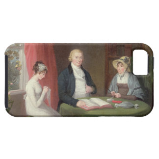 Group Portrait at a Drawing Room Table (oil on can iPhone SE/5/5s Case