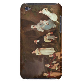 Group portrait of a Squire, his Wife and Children iPod Case-Mate Case