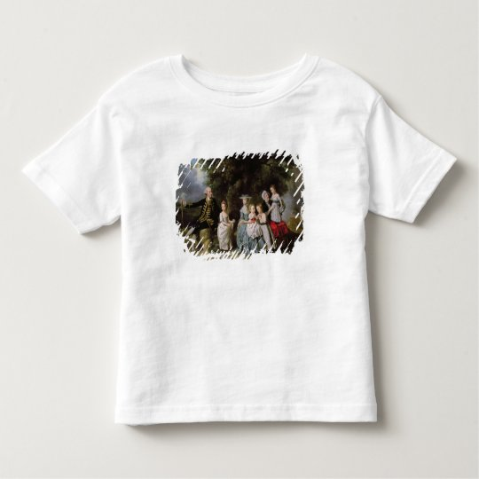 Group Portrait of the Colmore Family Toddler T-shirt