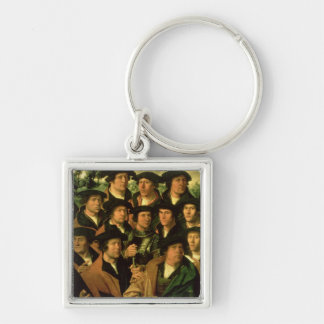 Group Portrait of the Shooting Company Keychain
