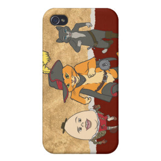 Group Running iPhone 4 Cases