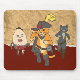 Group Running Mouse Pad