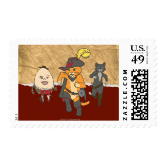 Group Running Stamp