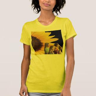Group Sunflower Profile Tee Shirt