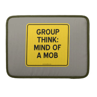 GROUP THINK: MIND OF A MOB SLEEVE FOR MacBook PRO