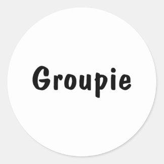 Groupie Classic Round Sticker
