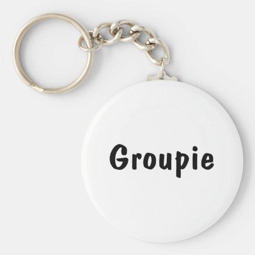Groupie Llavero Redondo Tipo Pin
