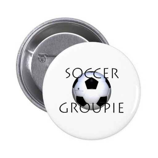 Groupie SUPERIOR del fútbol Pin Redondo 5 Cm