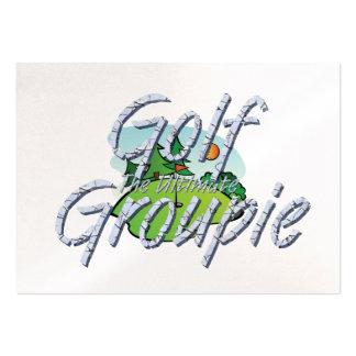 Groupie SUPERIOR del golf Plantillas De Tarjetas De Visita