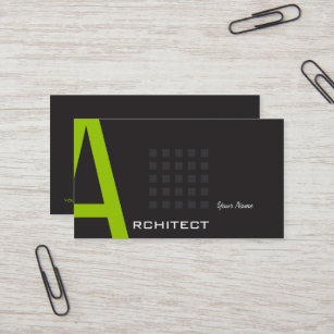 groupon architect business card - Architect Business Card