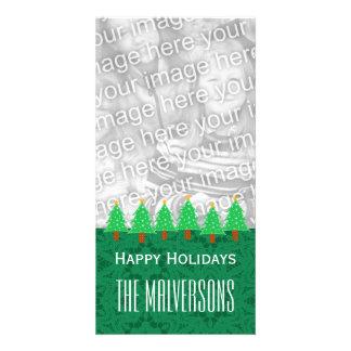 GROUPON Christmas Trees Merry Christmas V6 Card