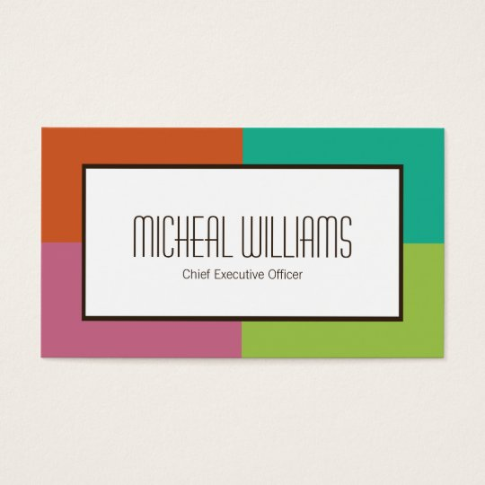 Groupon color block ceo company business cards zazzle groupon color block ceo company business cards colourmoves Gallery