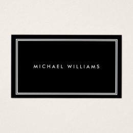 Groupon business cards templates zazzle groupon elegant classic black business card colourmoves Gallery
