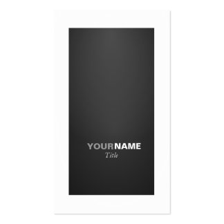 Groupon Graphite Business Card