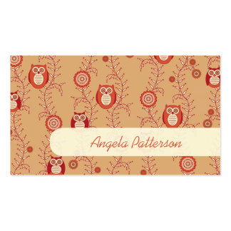 Groupon Owls Mommy Calling Cards Double-Sided Standard Business Cards (Pack Of 100)