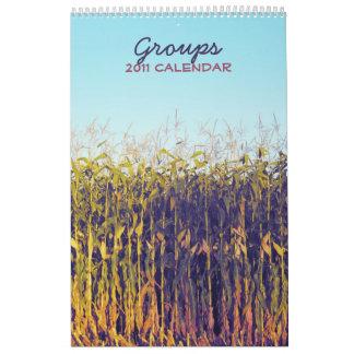 Groups 2011 calendar