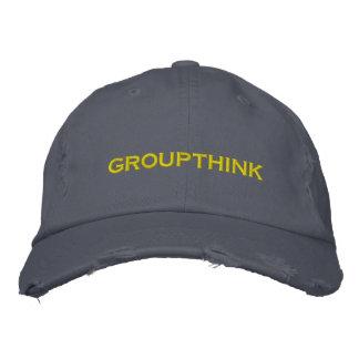 groupthink gorra de beisbol bordada
