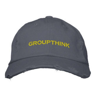 groupthink gorra de beisbol