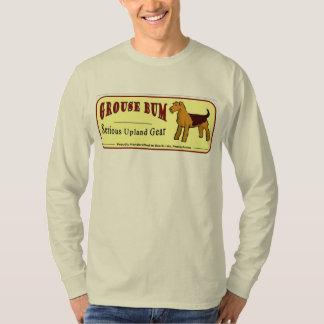 Grouse Bum - Serious Upland Gear Logo T-Shirt
