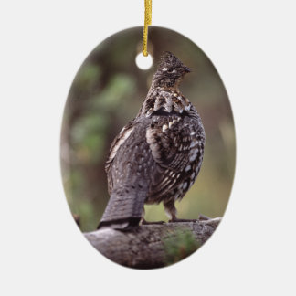 grouse christmas ornament