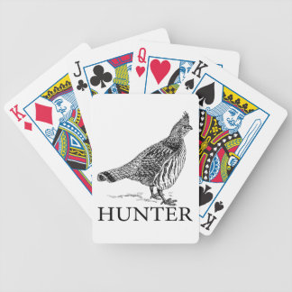 Grouse Hunter Bicycle Playing Cards