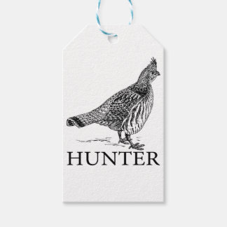 Grouse Hunter Gift Tags