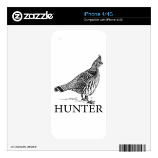 Grouse Hunter iPhone 4 Decal