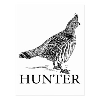 Grouse Hunter Postcard