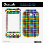 Grouse Moor Plaid Decal For LG Optimus S