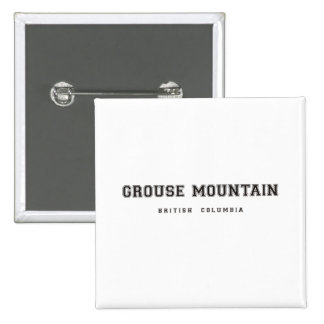 Grouse Mountain British Columbia Buttons