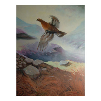 Grouse Poster