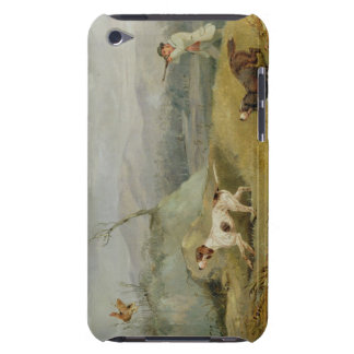 Grouse Shooting (oil on canvas) iPod Touch Case