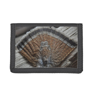Grouse Tail Feathers Wallet