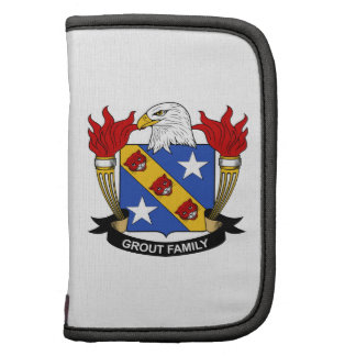Grout Family Crest Folio Planner