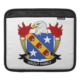 Grout Family Crest iPad Sleeves