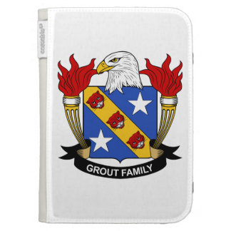 Grout Family Crest Kindle 3G Cases