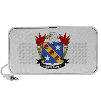 Grout Family Crest Portable Speakers