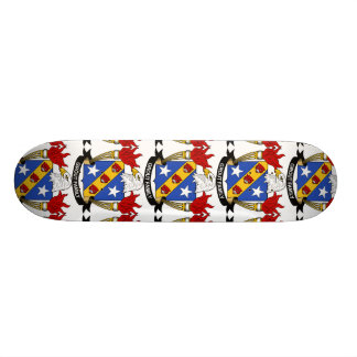 Grout Family Crest Skate Board