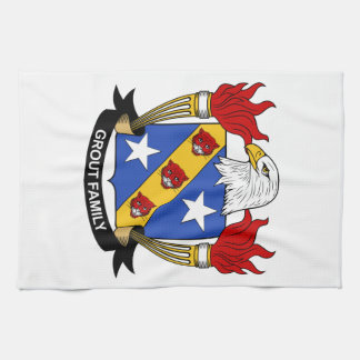 Grout Family Crest Towel