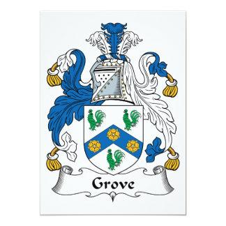 Grove Family Crest Card