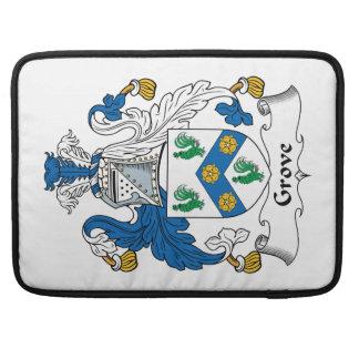 Grove Family Crest Sleeve For MacBooks