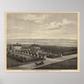 Grove Farm, Hays City, Kansas Poster
