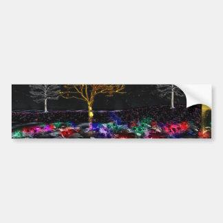 Grove of Living Gems Bumper Sticker Car Bumper Sticker